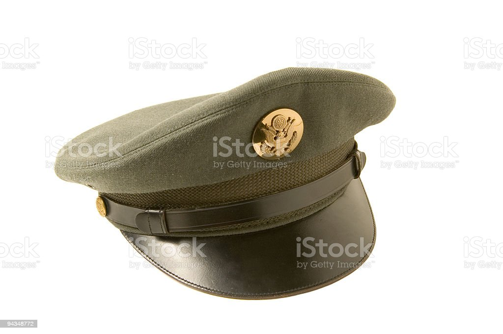 Army Hat stock photo