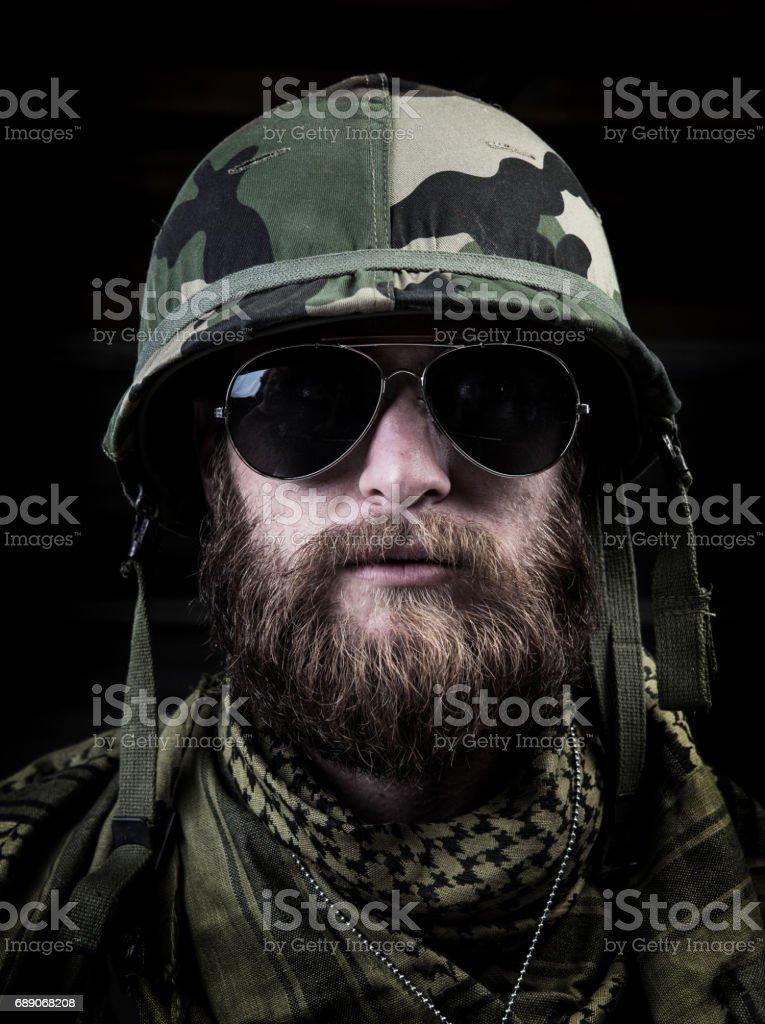 Army Liutenant stock photo