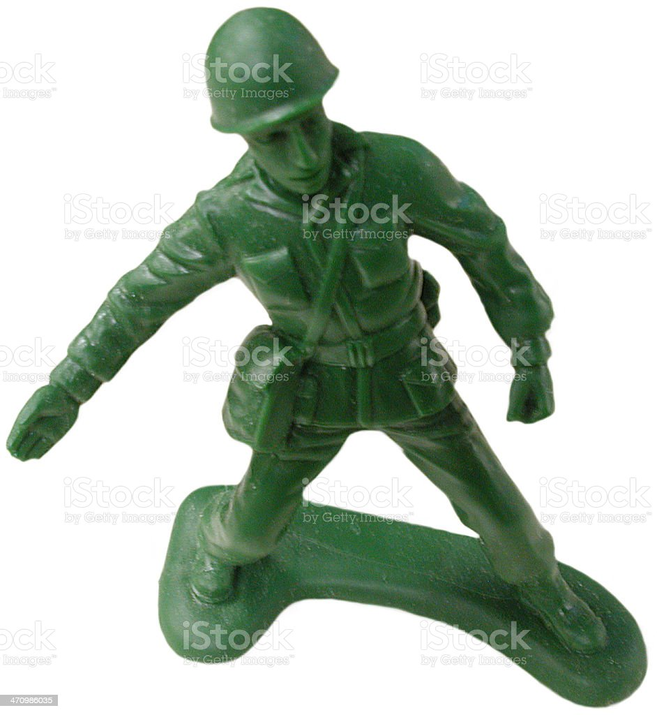 Army Man #1 royalty-free stock photo
