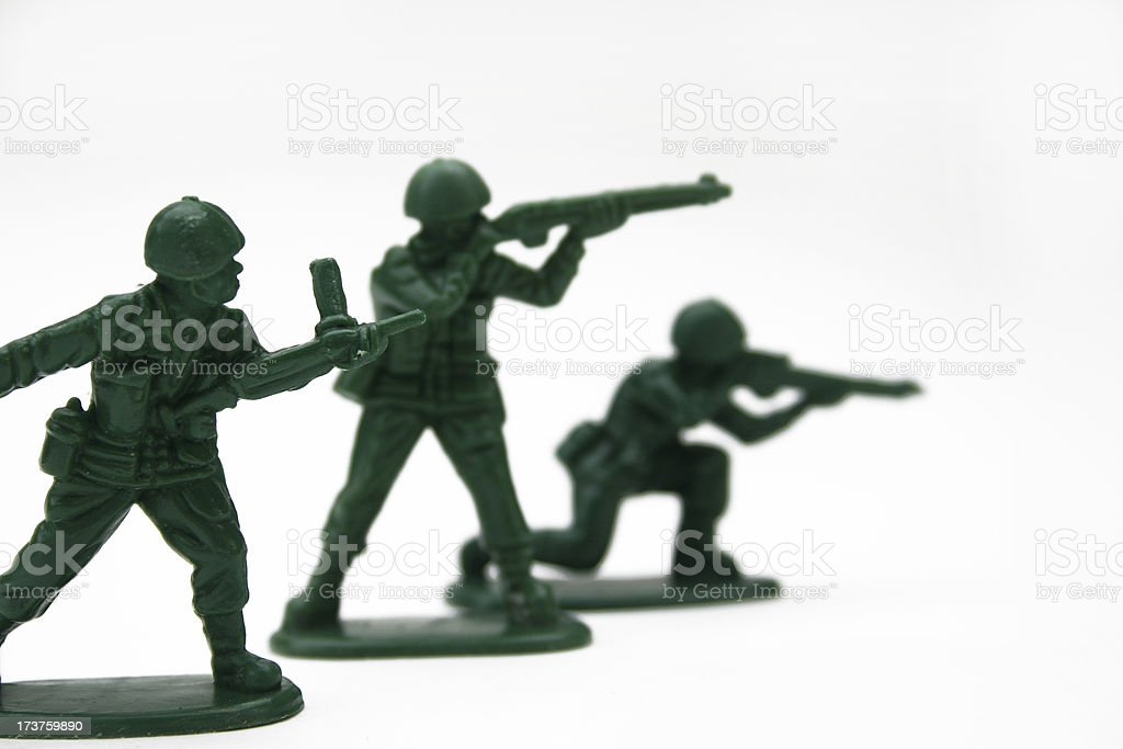 Army Men II royalty-free stock photo