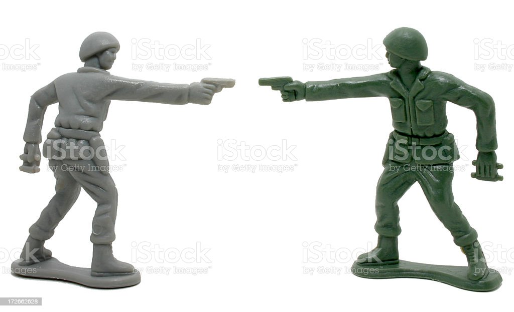 Army Men royalty-free stock photo