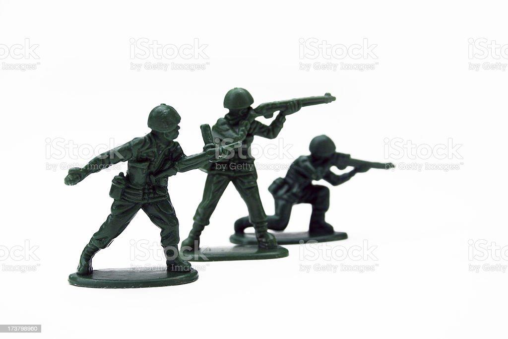 Army Men royalty-free stock photo