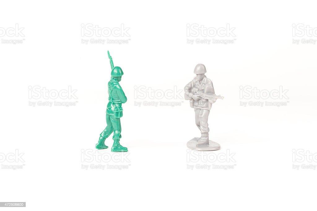 Army Men Rivals stock photo