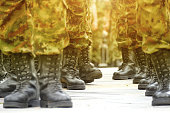 Army Military Boots