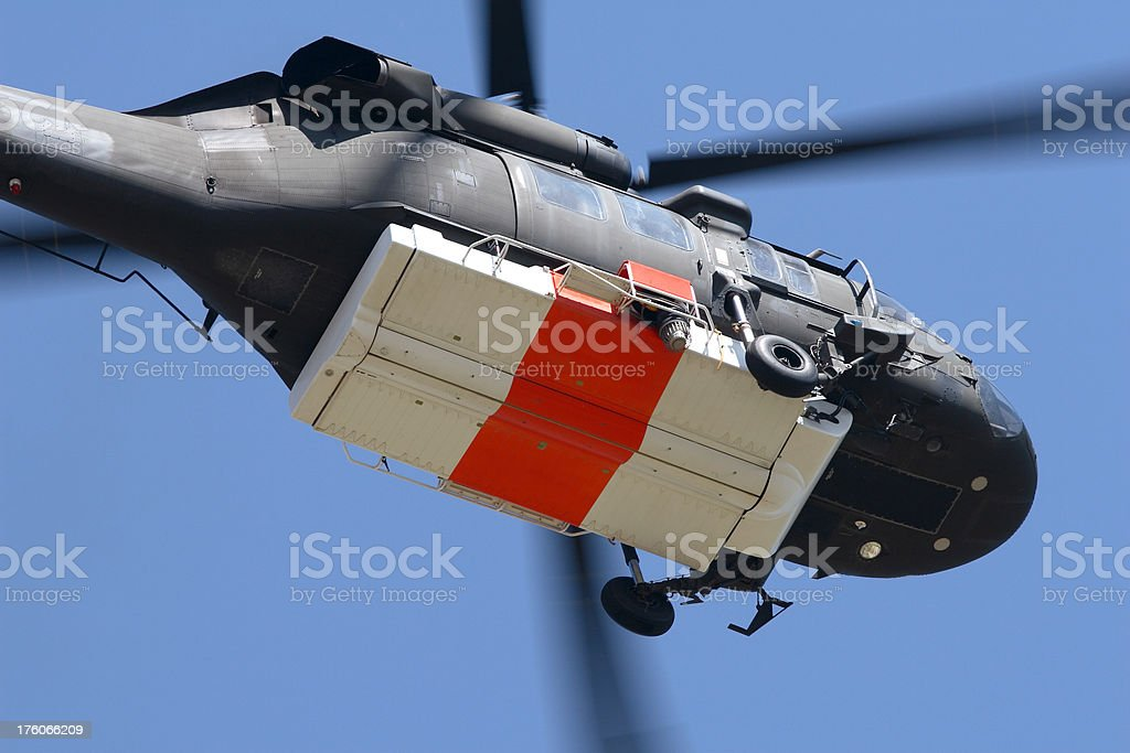 Army National Guard Helicopter stock photo