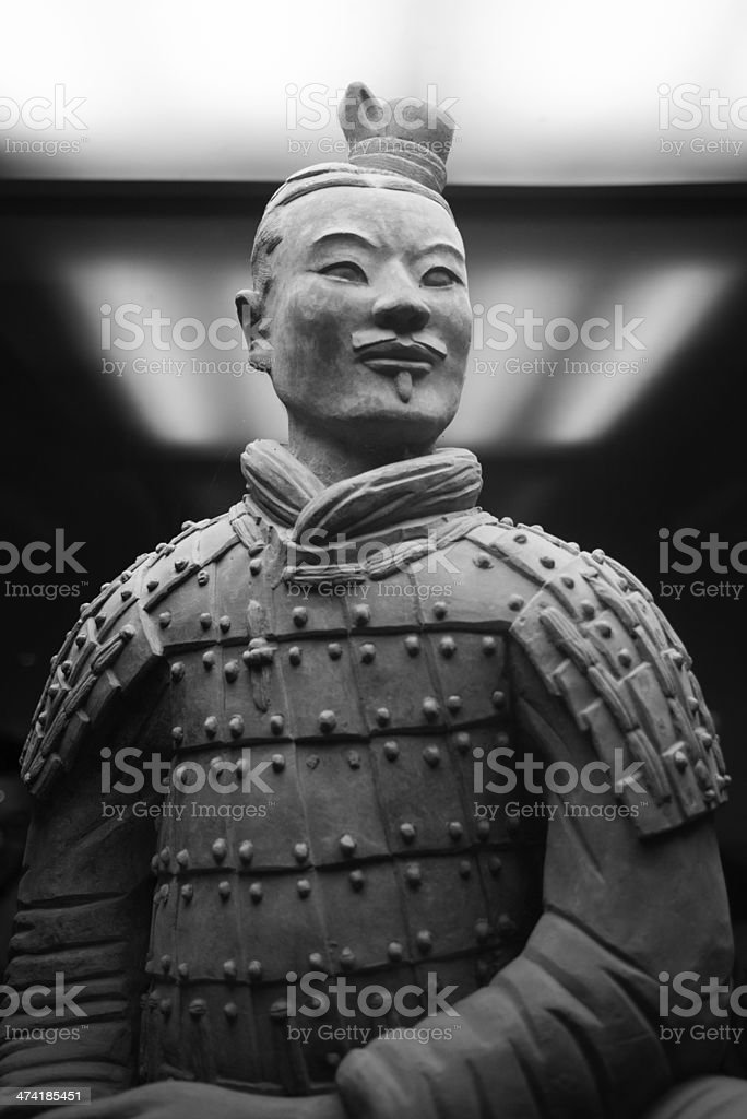 Army of the Terracotta Warriors stock photo