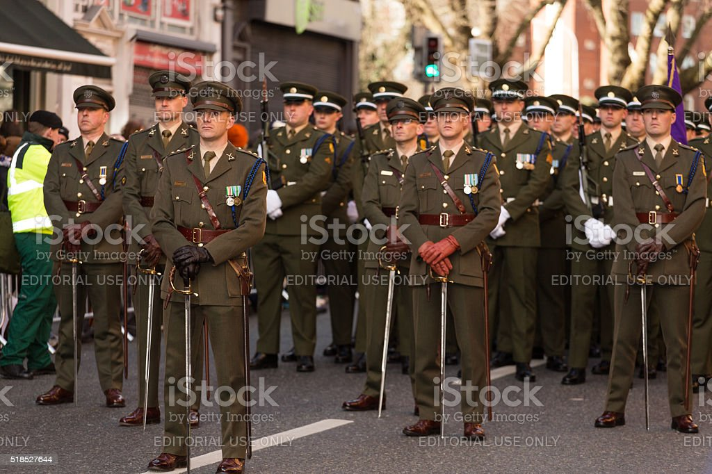 Army oficers stock photo