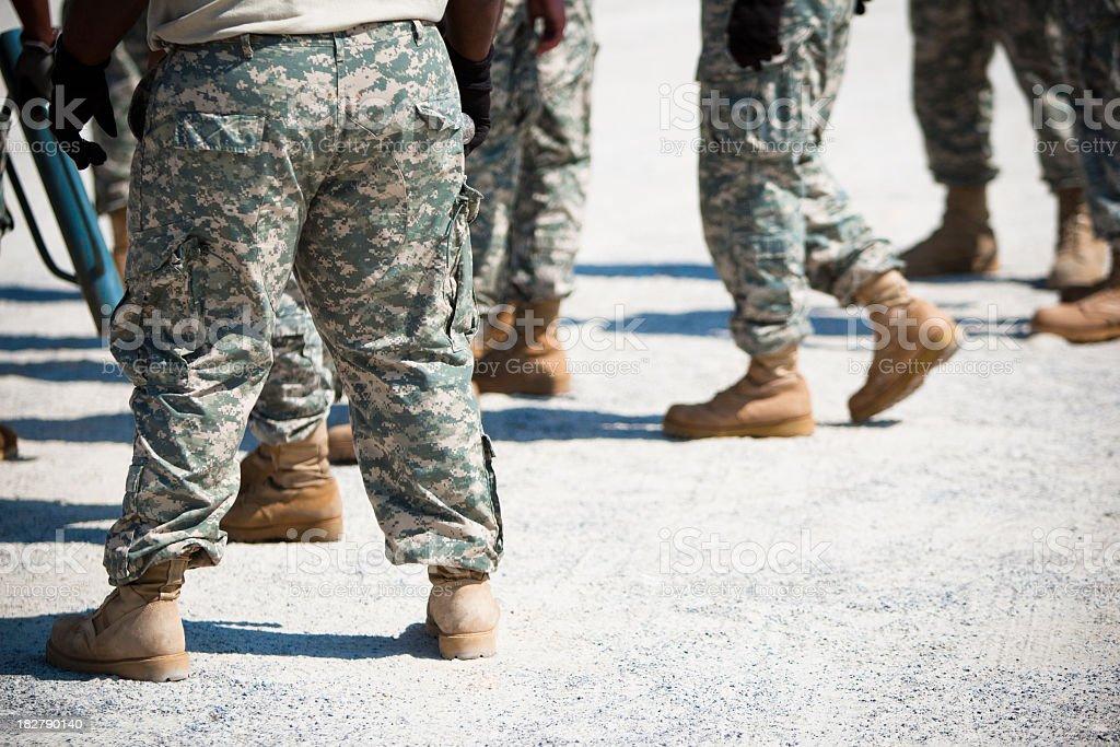 US Army royalty-free stock photo