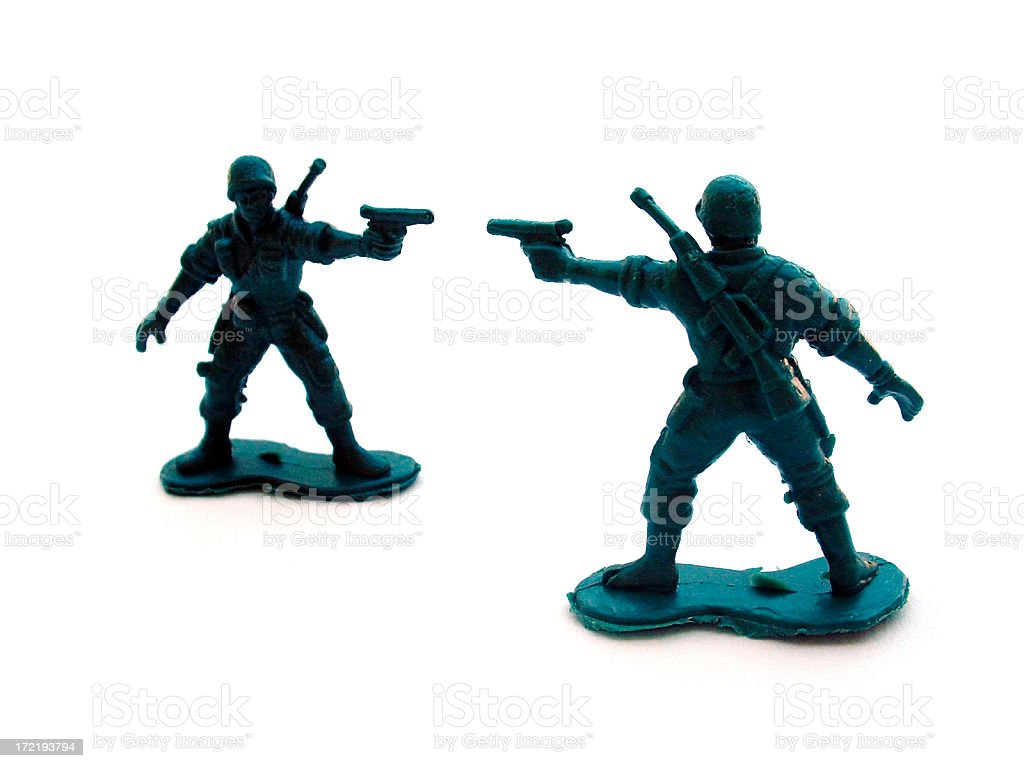 army soldiers 3 royalty-free stock photo