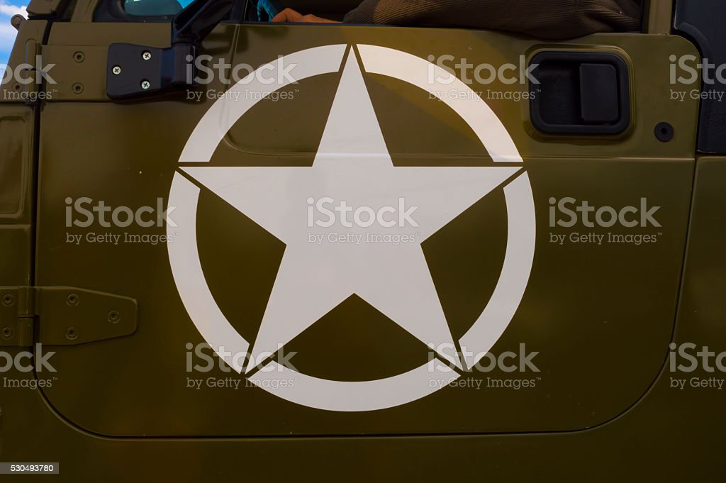 US Army Star stock photo