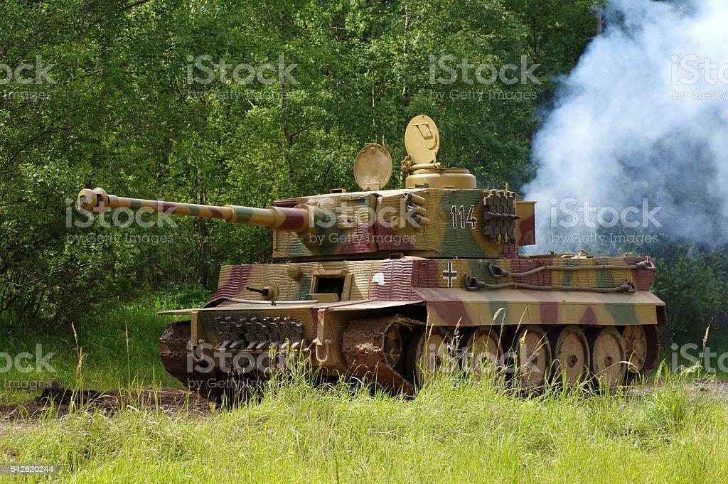 army tank german stock photo
