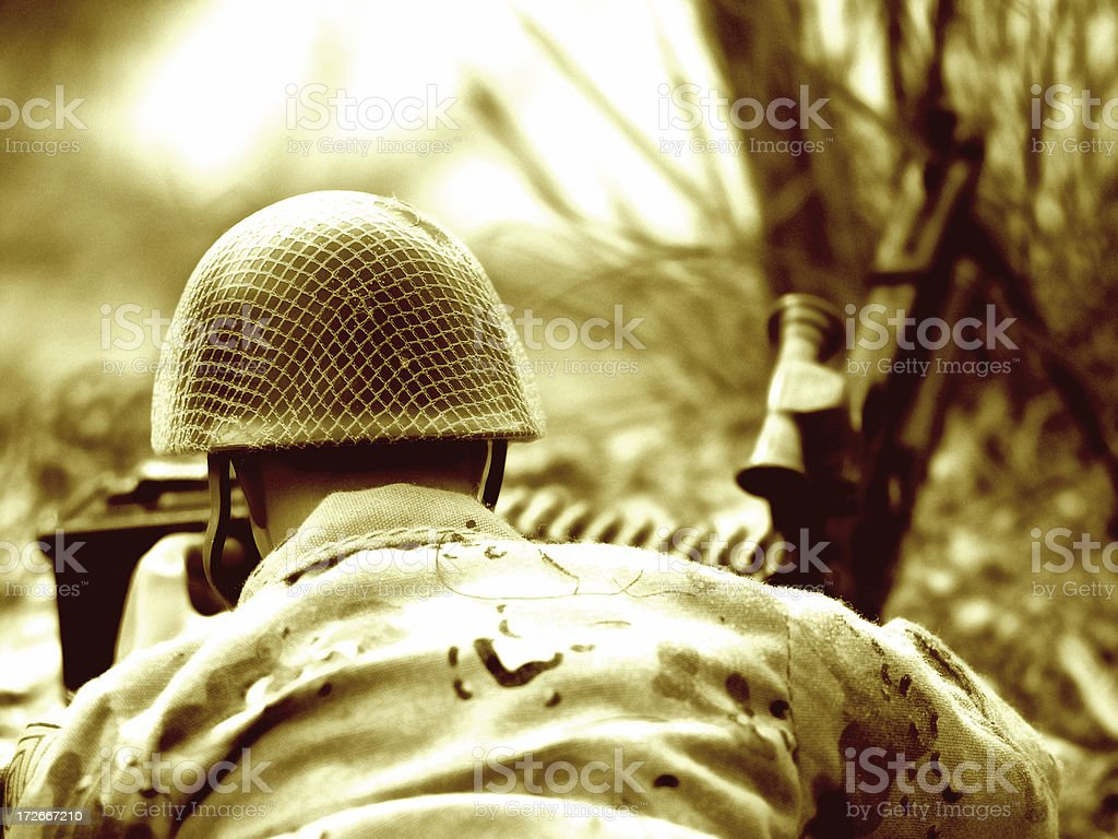 Army Toy royalty-free stock photo