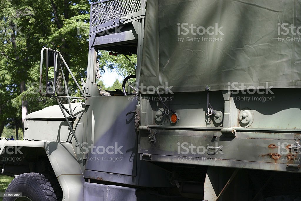 Army Truck royalty-free stock photo