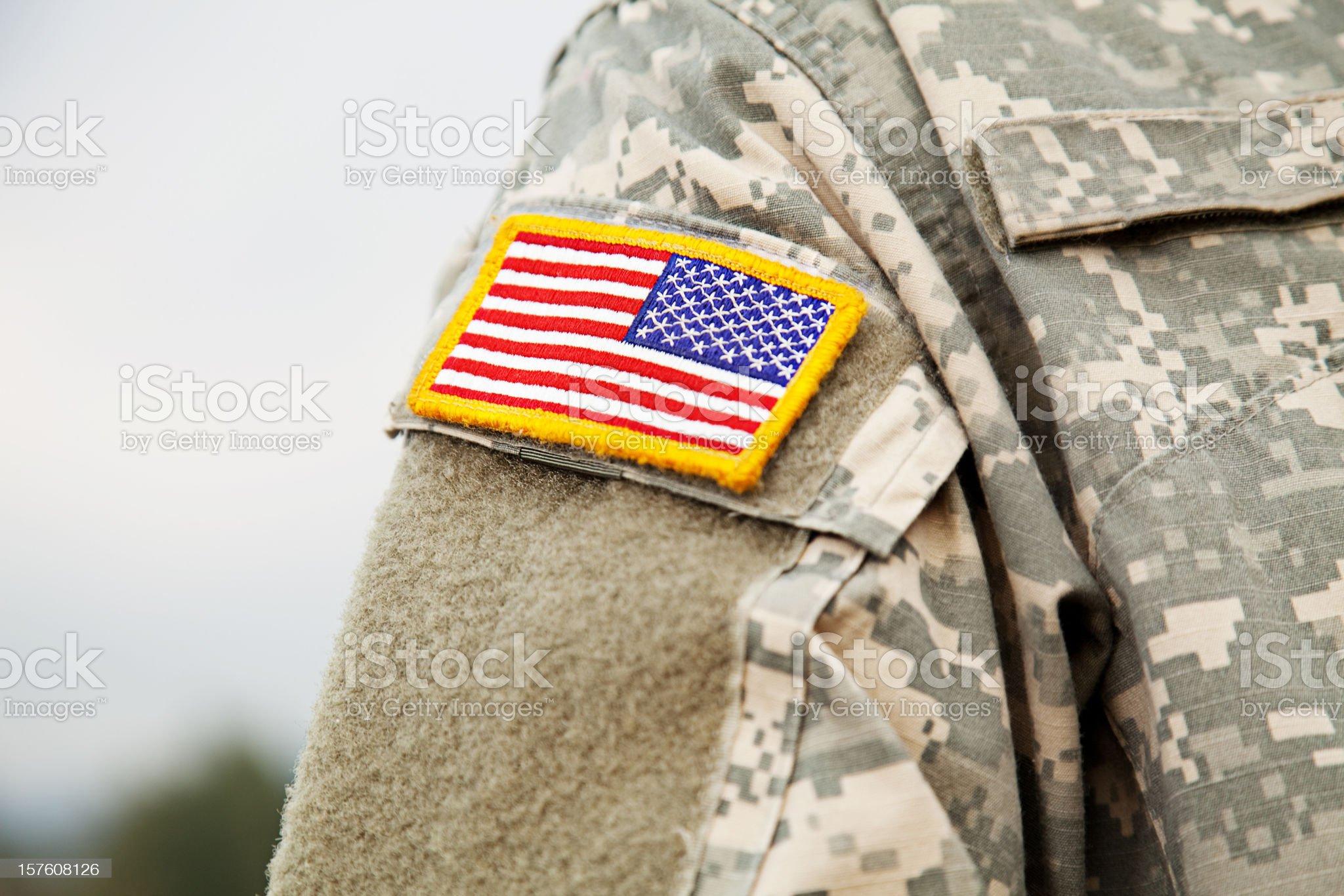 U S Army Uniform royalty-free stock photo
