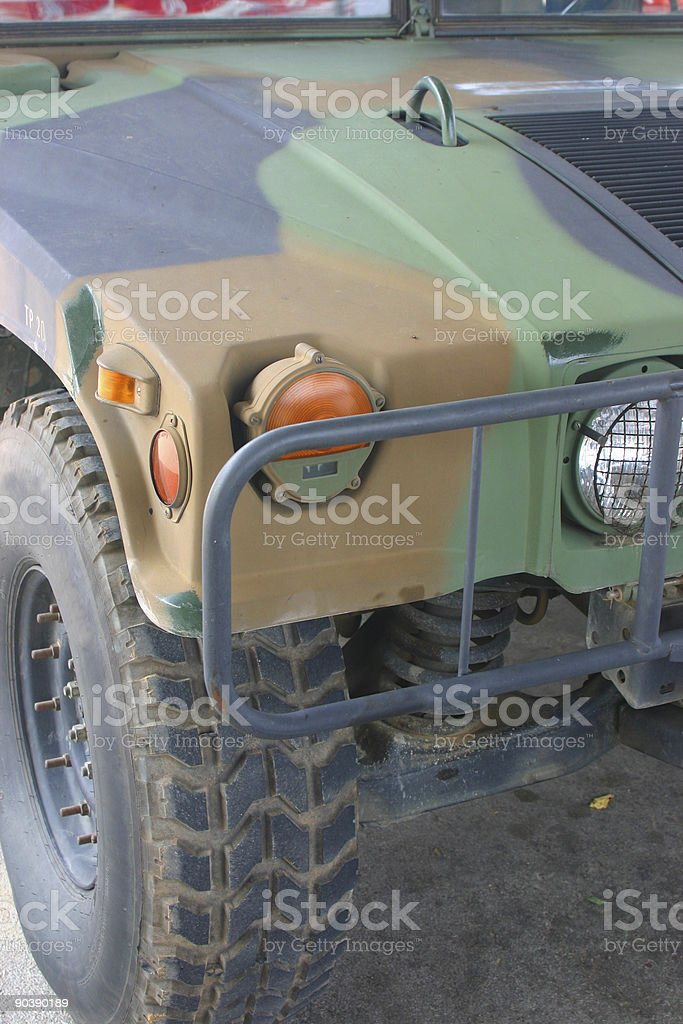 army vehicle royalty-free stock photo