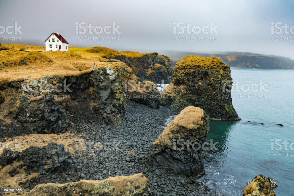 Arnarstapi Coast stock photo