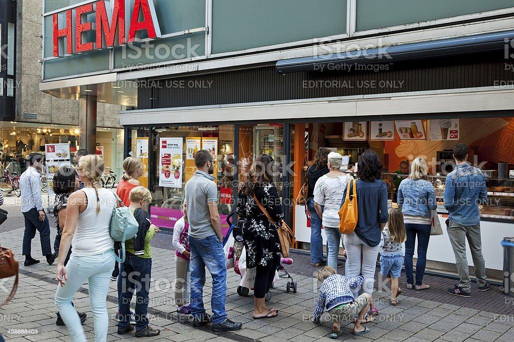 Arnhem Hema store royalty-free stock photo