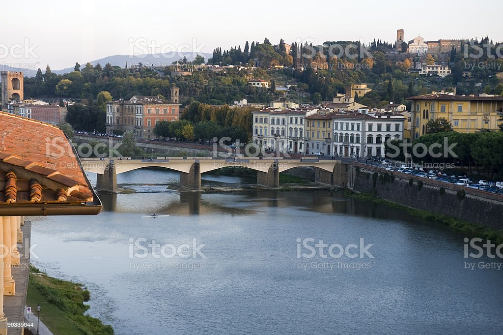 Arno river royalty-free stock photo