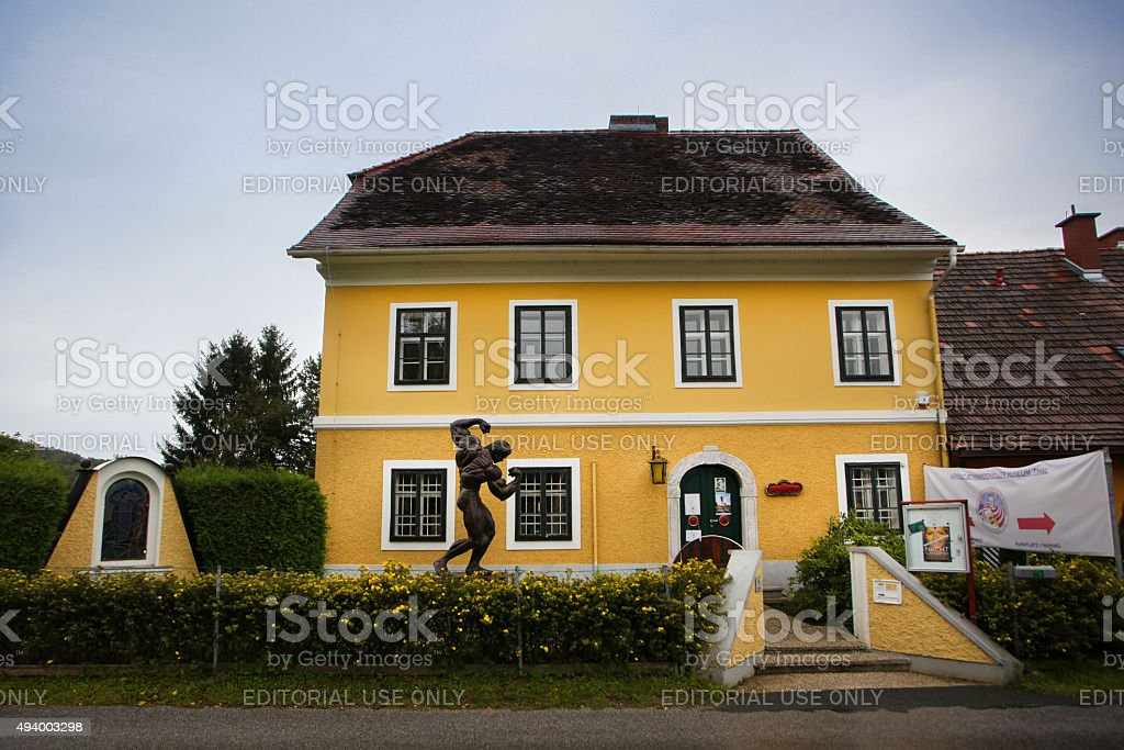 Arnold Schwarzenegger Birth House Museum stock photo