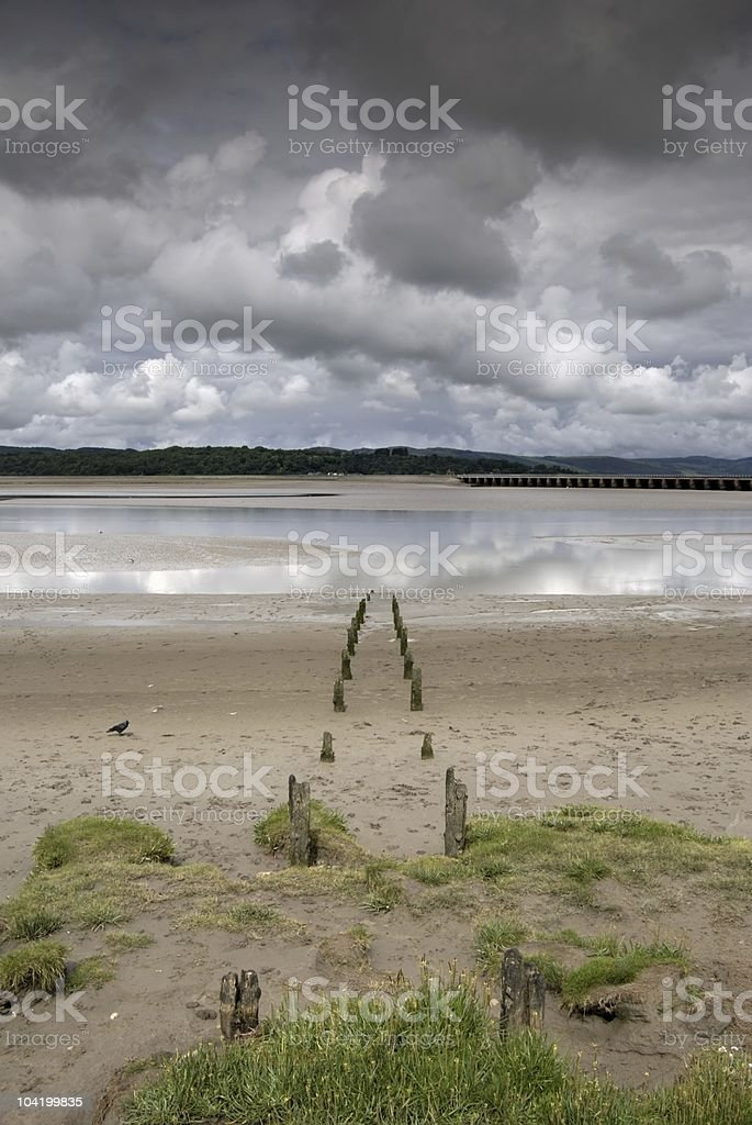 Arnside shore royalty-free stock photo