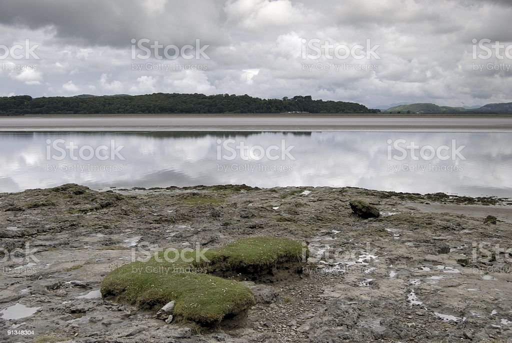 Arnside shore royalty-free stock photo