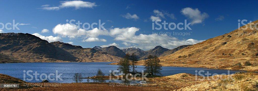 Arochar Alps, Scotland royalty-free stock photo