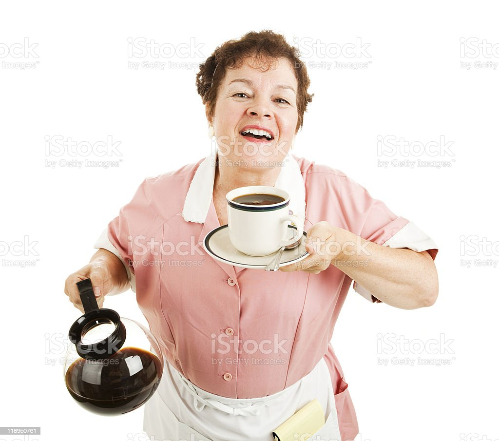 Aroma of Fresh Coffee royalty-free stock photo