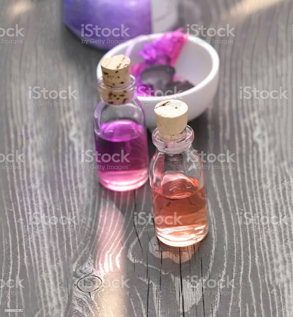Aroma Oils stock photo