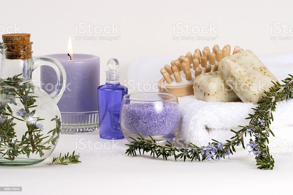Aroma spa set royalty-free stock photo