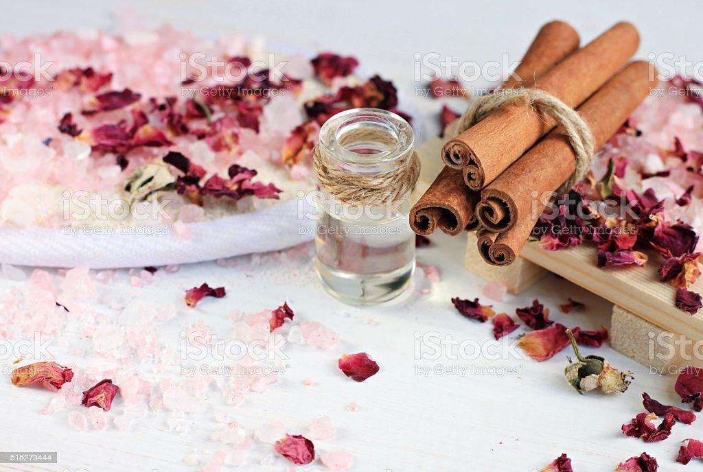 Aroma spa treatment. stock photo