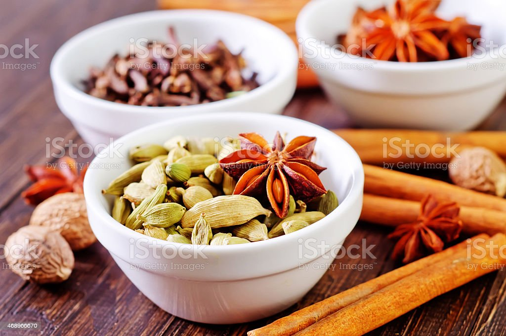 aroma spice stock photo