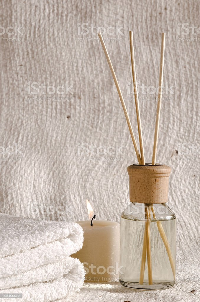 aroma therapy items royalty-free stock photo