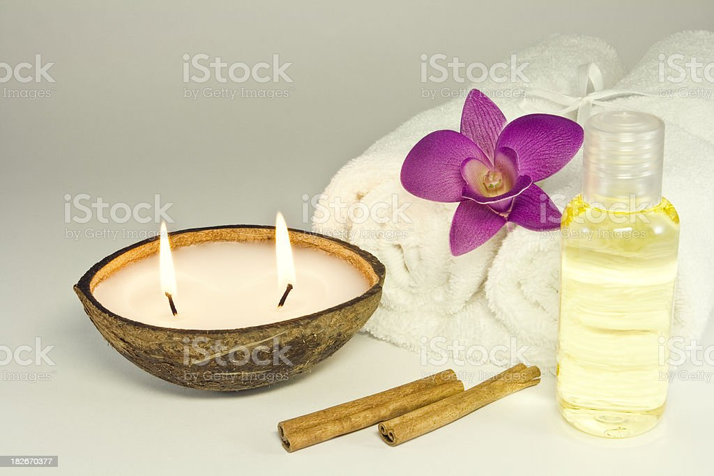 Aroma Therapy royalty-free stock photo