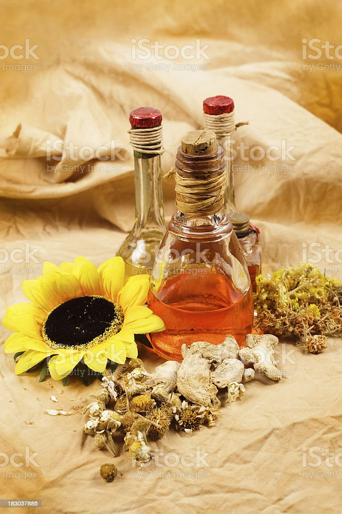Aromatherapy  and spa royalty-free stock photo