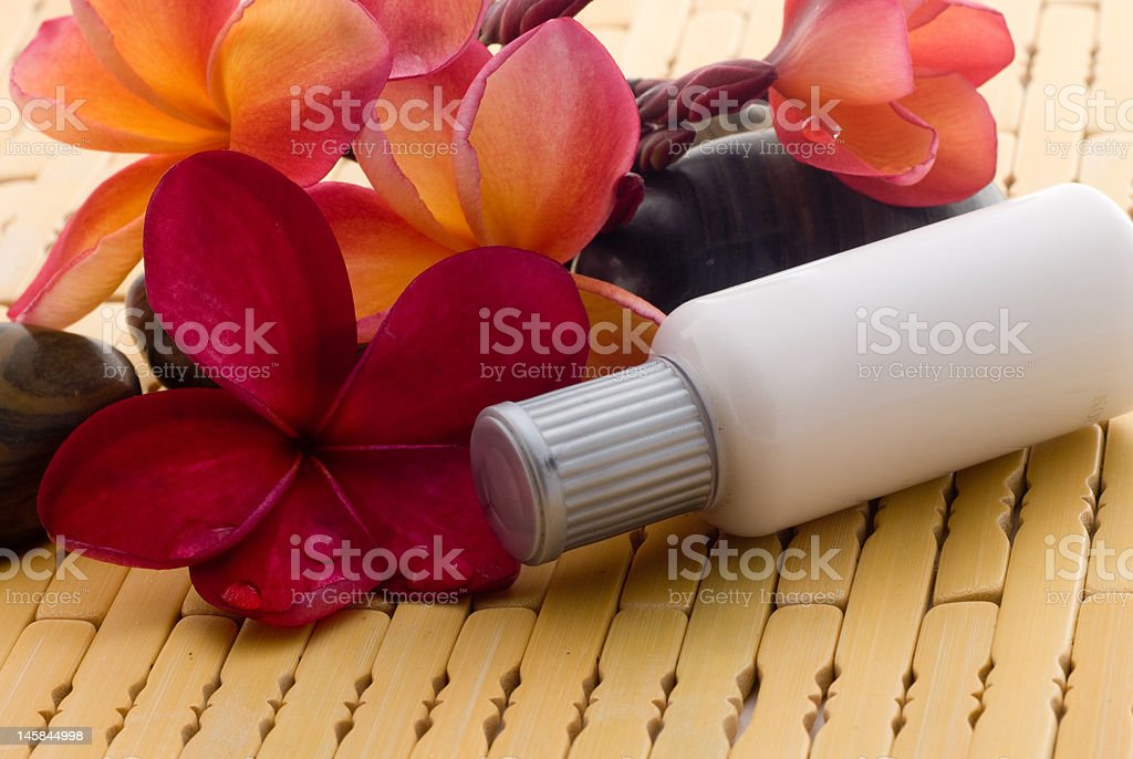 Aromatherapy and spa relaxation royalty-free stock photo
