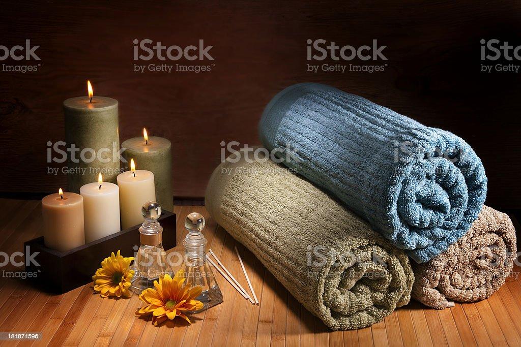Aromatherapy composition royalty-free stock photo