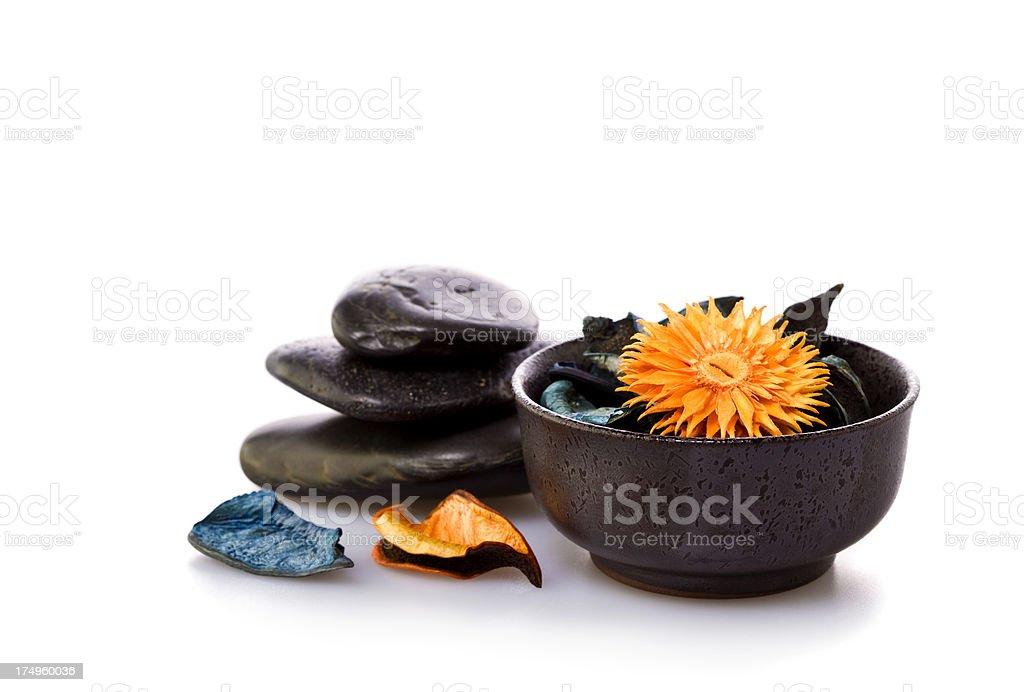 aromatherapy isolated stock photo