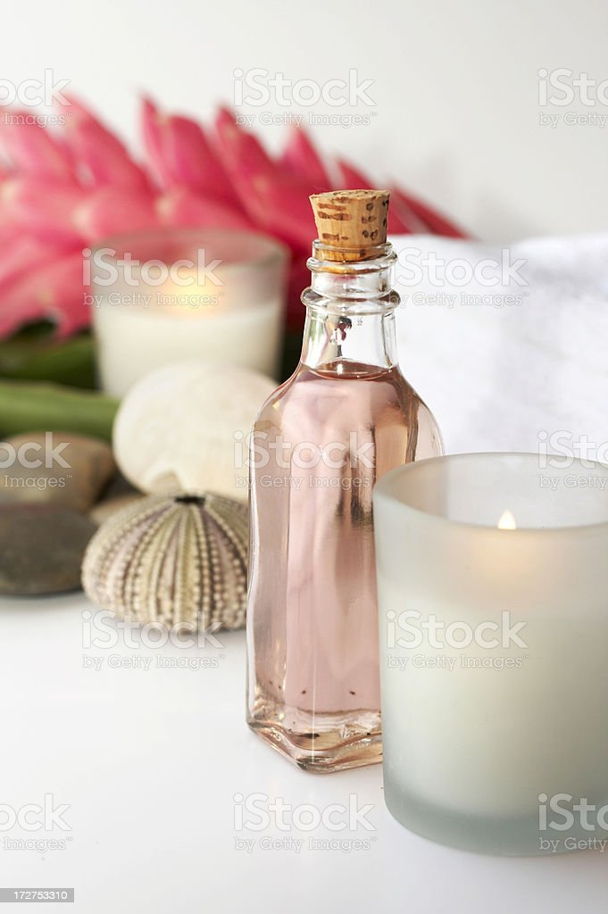 aromatherapy items royalty-free stock photo