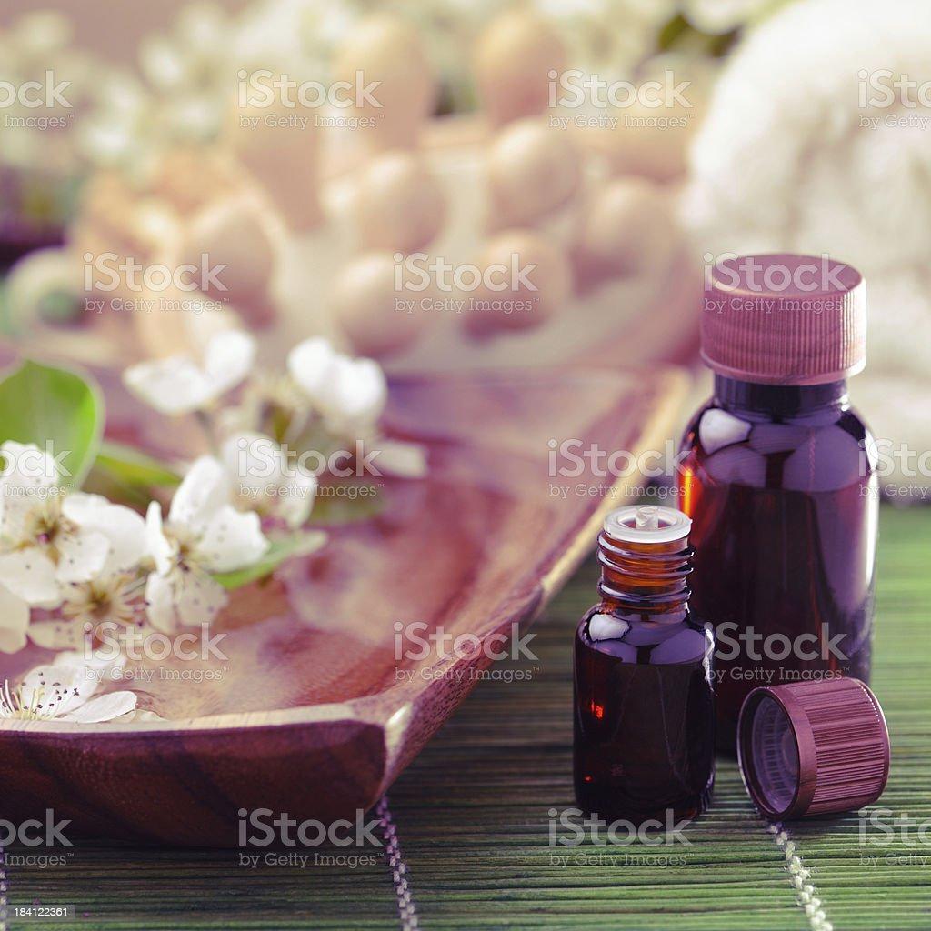 Aromatherapy oil royalty-free stock photo