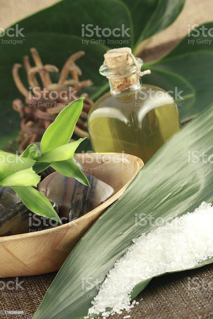 aromatherapy products stock photo