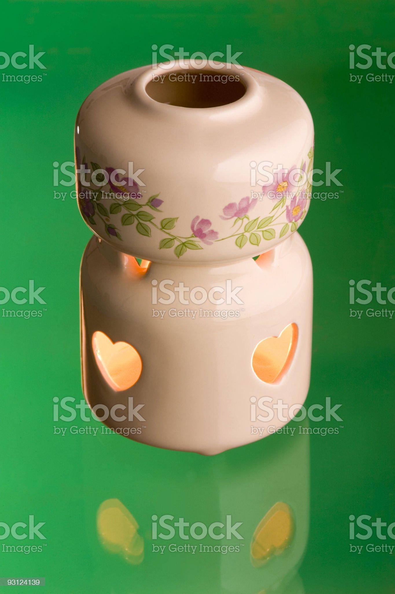 Aromatherapy scents burner royalty-free stock photo