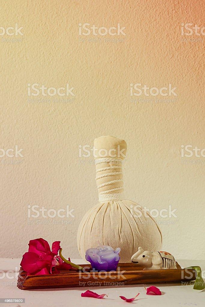 Aromatherapy SPA set stock photo