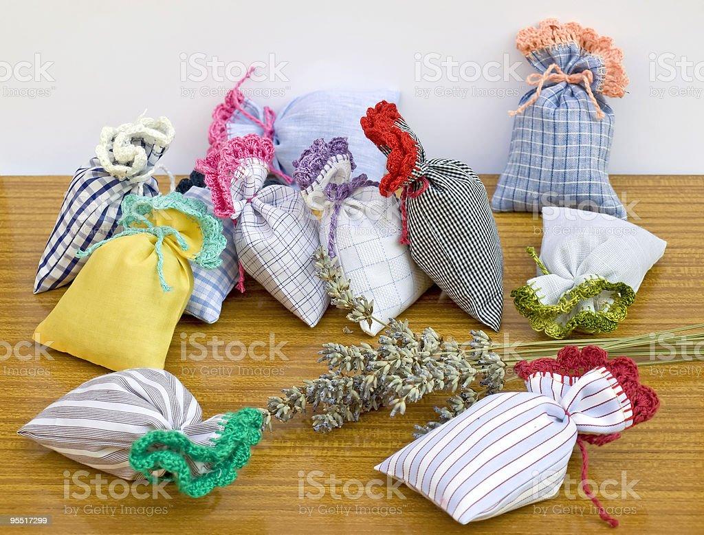 Aromatic bags royalty-free stock photo