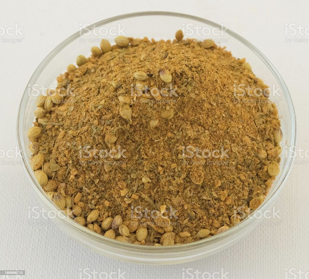Aromatic blended spices royalty-free stock photo