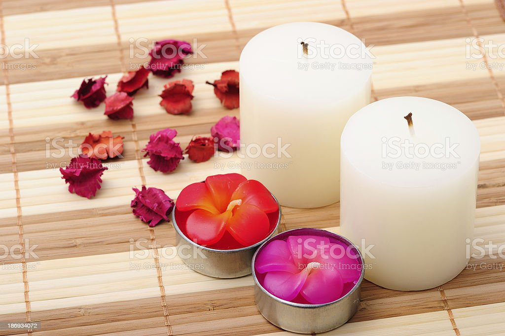 Aromatic Candle royalty-free stock photo