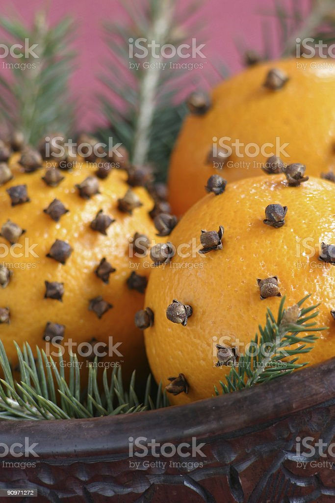 Aromatic Christmas royalty-free stock photo