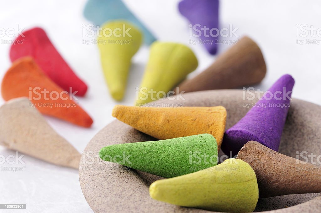 Aromatic incense royalty-free stock photo