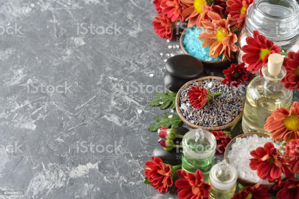 Aromatic ingredients stock photo