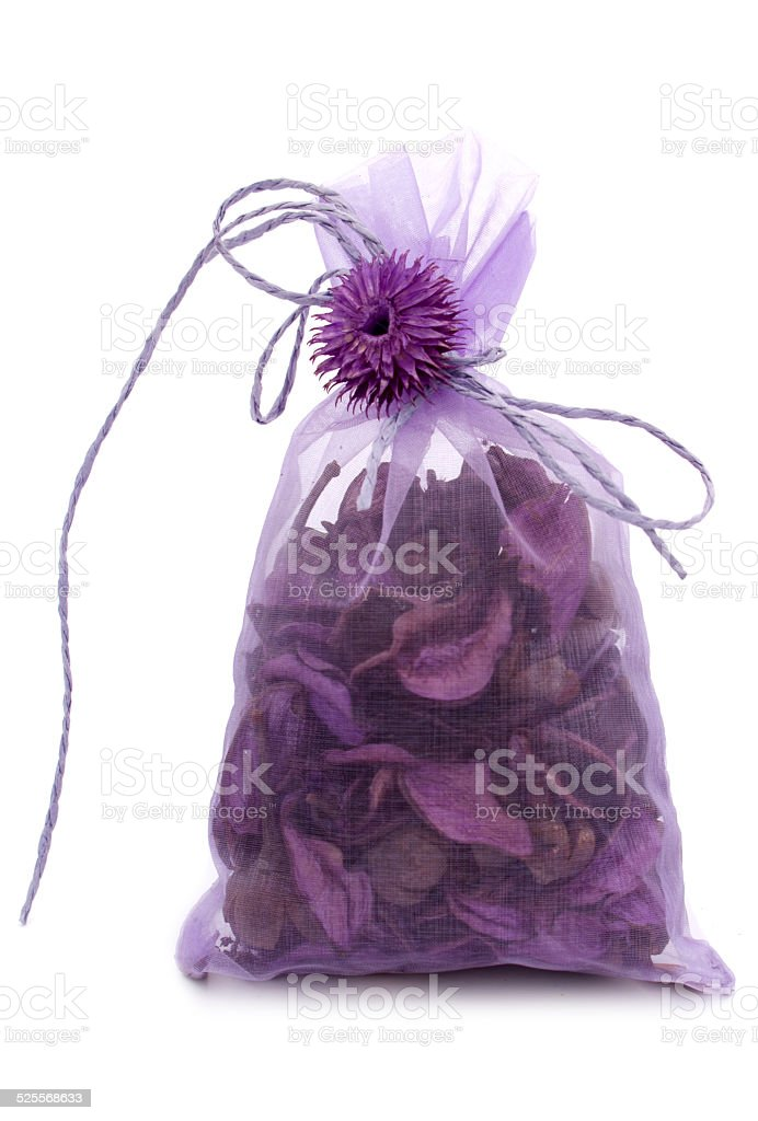 Aromatic mix in a gift package stock photo
