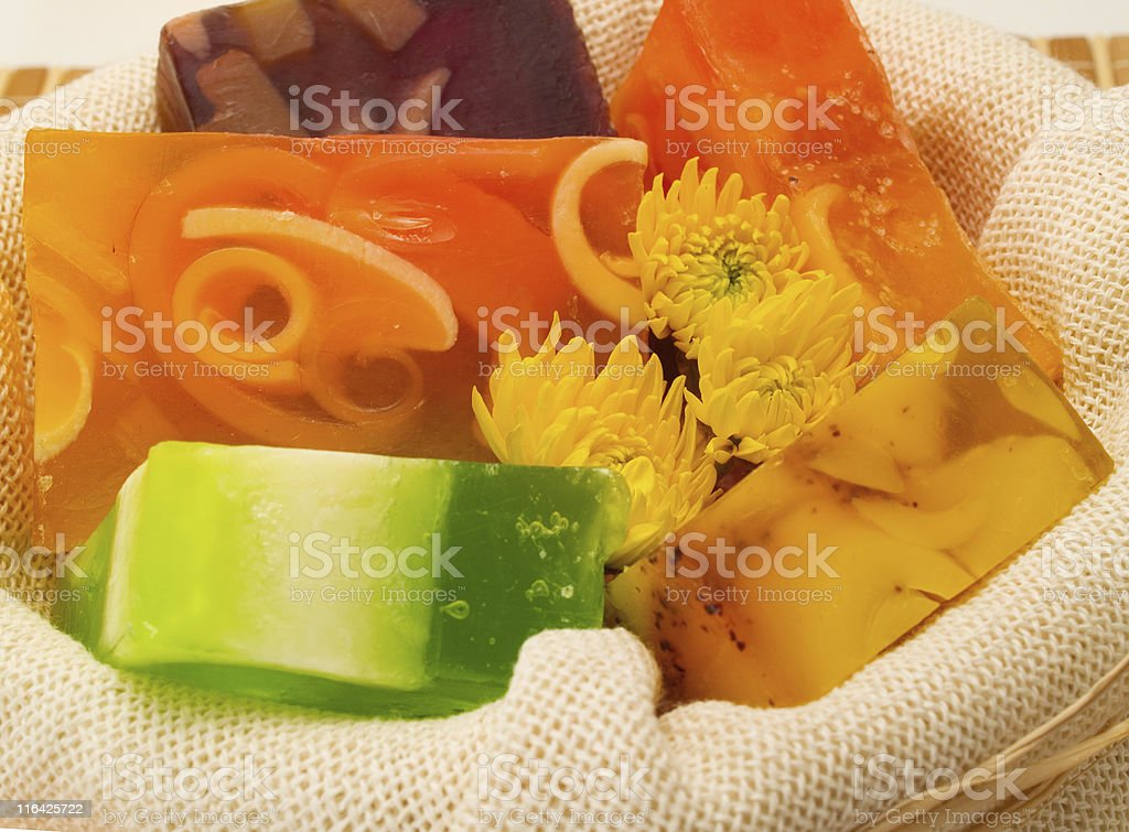 Aromatic Soaps royalty-free stock photo
